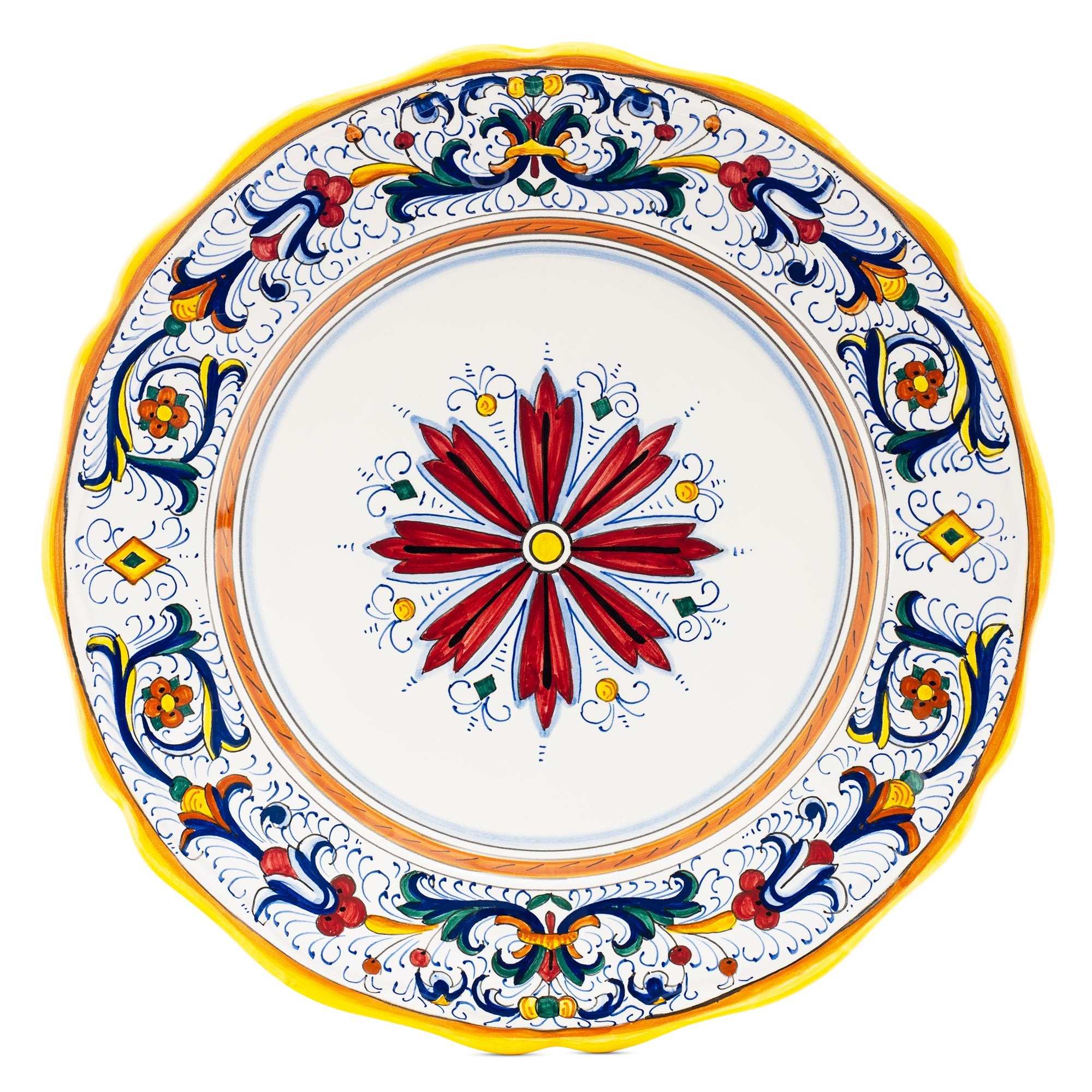 Ricco Deruta Dinner Plate, Full Design