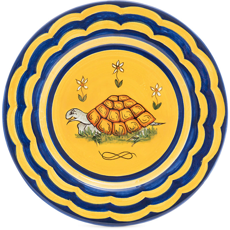 Contrade Turtle Dinnerware From Siena