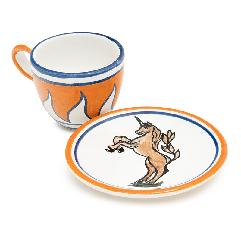 Contrade Unicorn Dinnerware From Siena