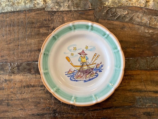 Solimene By Vietri Plate 13 Pre-Owned-Pottery