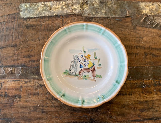 Solimene By Vietri Plate 4 Pre-Owned-Pottery