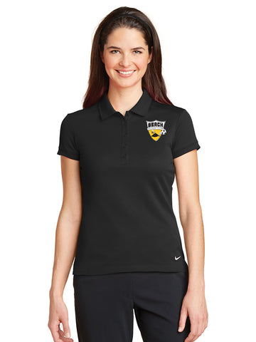 Nike Women's Dri-FIT Solid Icon Pique Modern Fit Polo