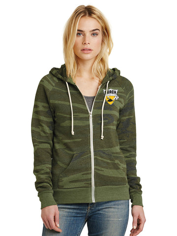 Alternative Women's Adrian Eco™ - Fleece Zip Hoodie