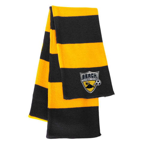 Rugby Striped Knit Scarf