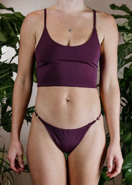 AVA BOTTOM - PLUM