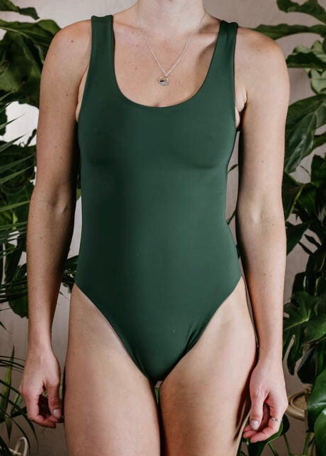 CANDICE BODYSUIT - FOREST