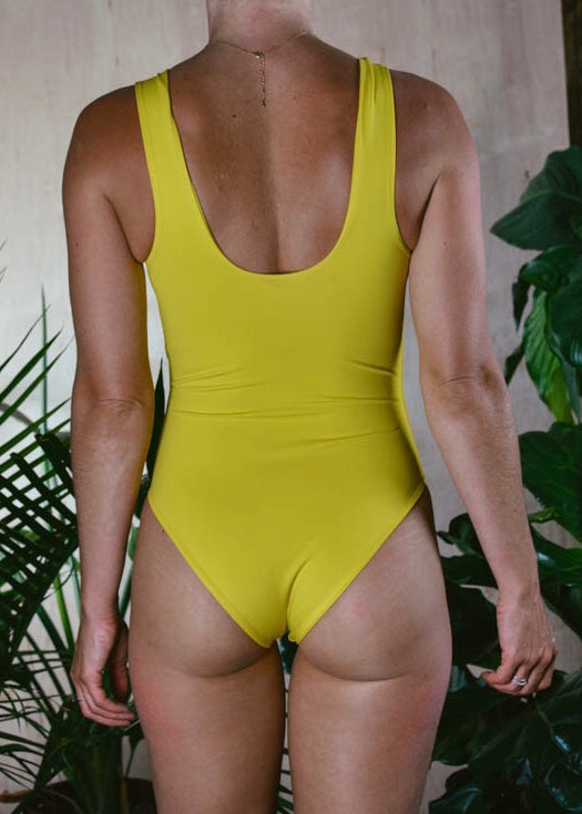 CANDICE BODYSUIT - SUNSHINE