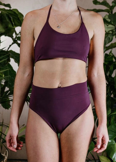 PALOMA BOTTOMS - PLUM