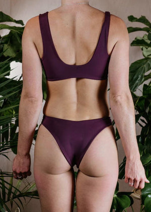 LARGE - LEO TOP - PLUM