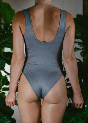 SILVER BAMBOO CANDICE BODYSUIT