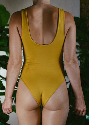 GOLD BAMBOO CANDICE BODYSUIT