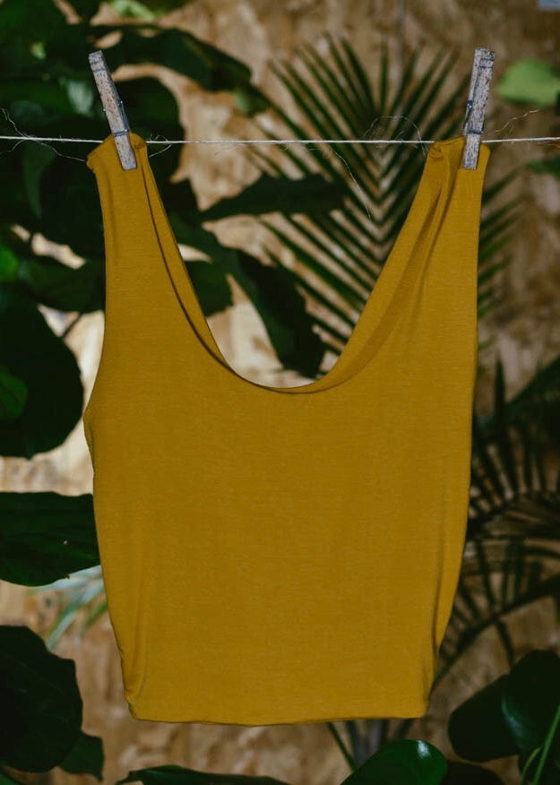 GOLD BAMBOO LEONA TOP