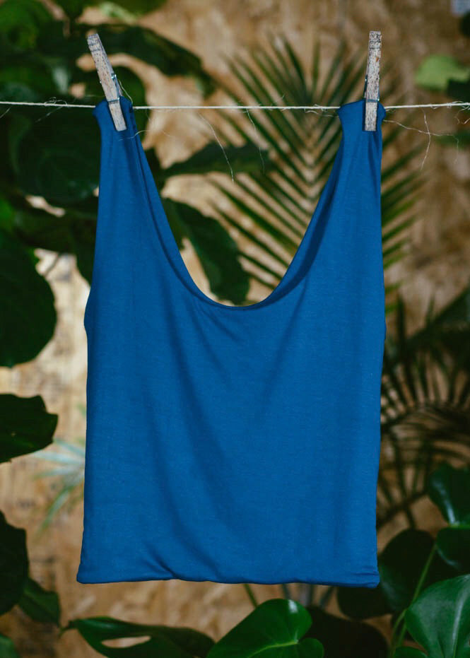 BLUE BAMBOO LEONA TOP