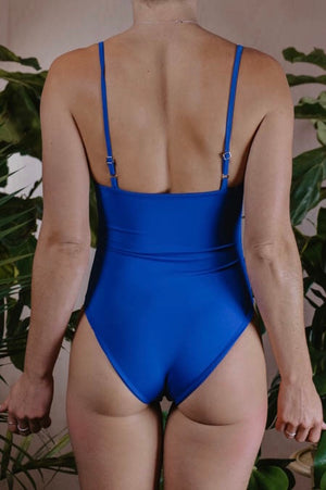 SMALL - GEORGIE BODYSUIT - COBALT