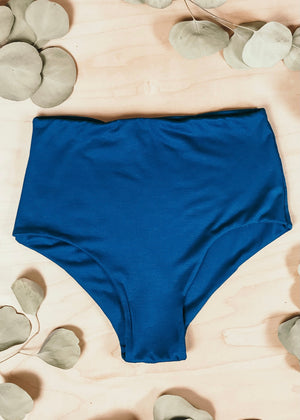 BAMBOO CLASSIC HIGH WAISTED BOTTOM  -  AIR