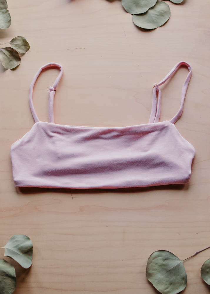 LOUNGE DREAMLETTE TOP - ROSE