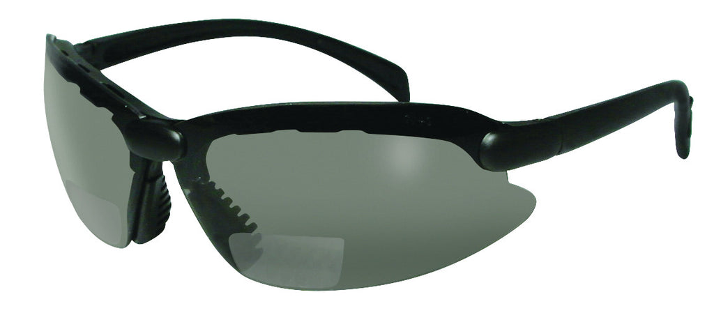 ASCS Bifocal Smoked Reading Safety Glasses