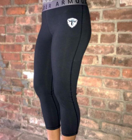 Womens Shield Favorite Crop Leggings