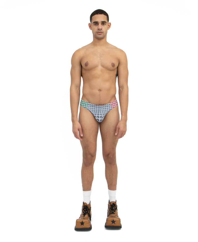 B-KINI SWIM BRIEF (color: Mexico)