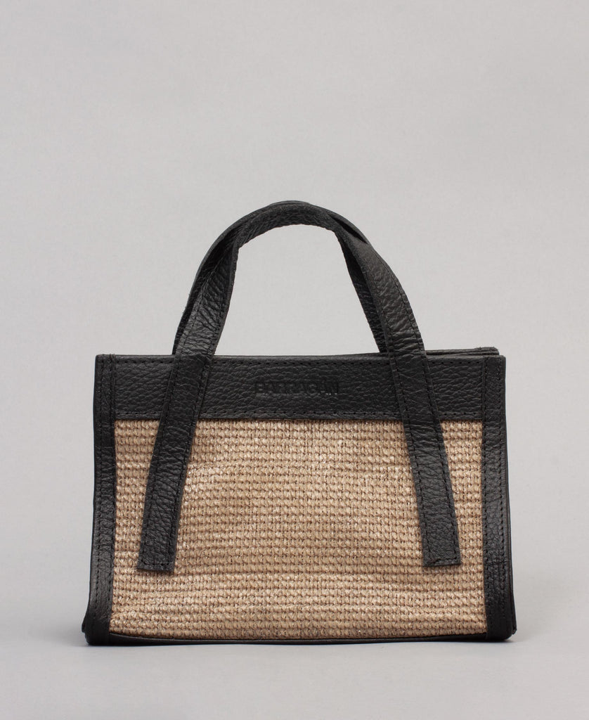 MAS O MENOS MANOS BELT BAG (color: black + natural)