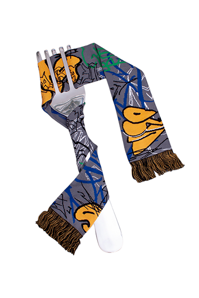 GRAFFITI SCARF *FREE SHIPPING WORLDWIDE*