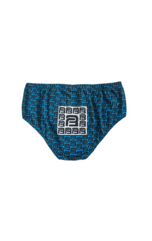 WATERSPORTS SWIM BRIEF (color: cerulean blue)