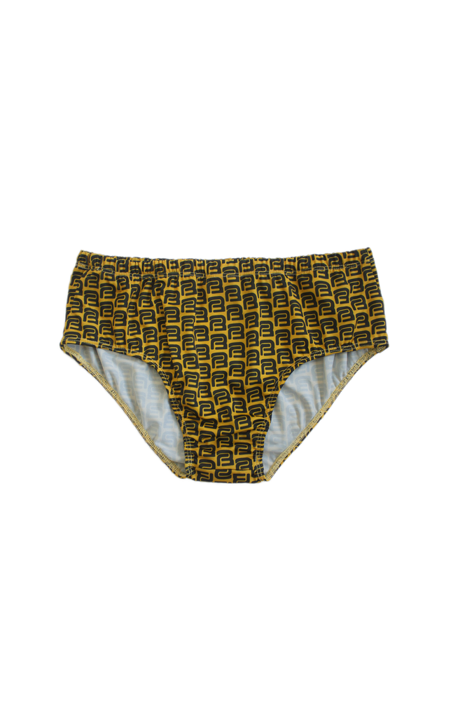 WATERSPORTS SWIM BRIEF (color: goldenshower)