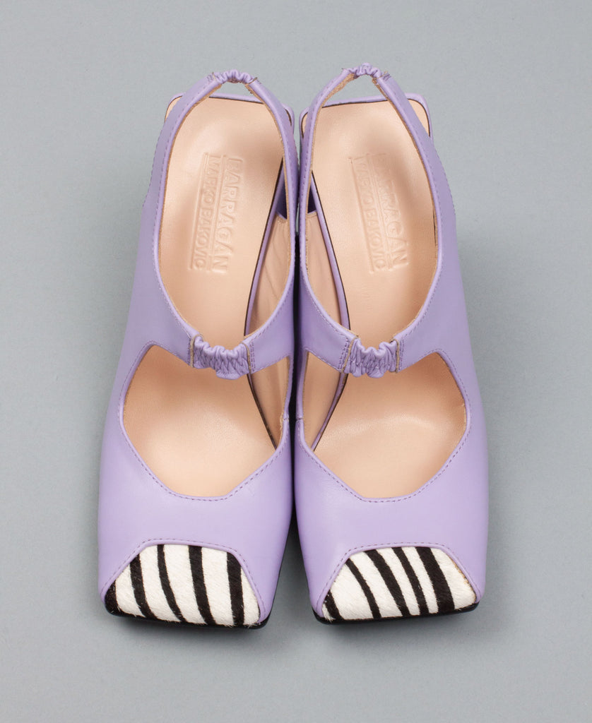 PLANA MARY JANE HEELS (color: lavender)