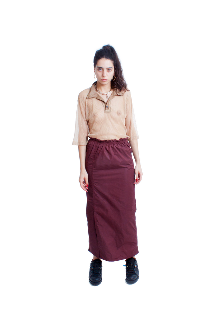 Maroon Lower Skirt
