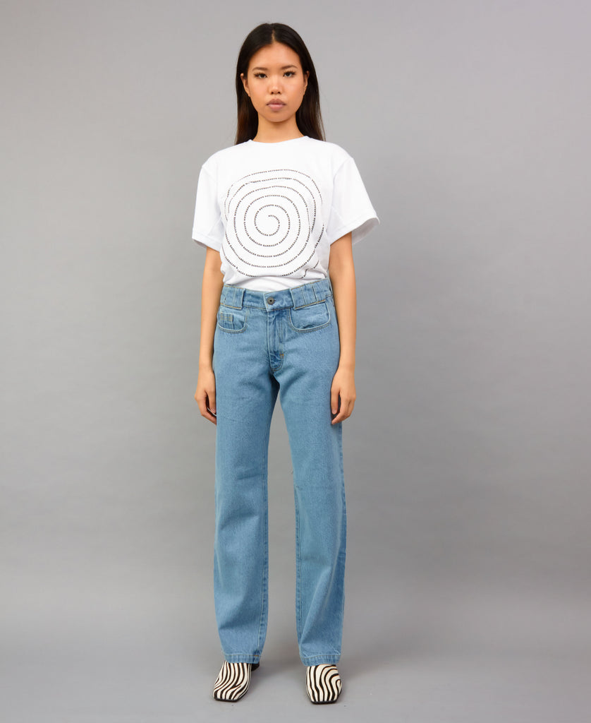 TRIPLE BELT LOOP CLASSIC JEANS