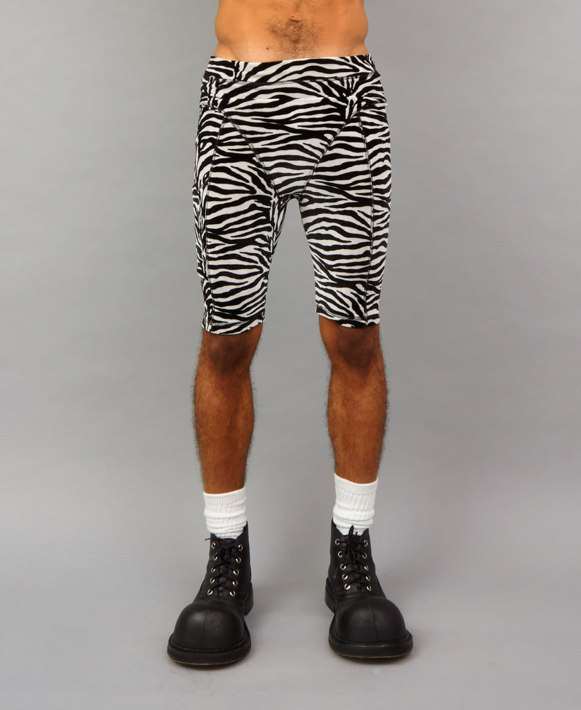 ZEBRA BIKE SHORTS *online exclusive*