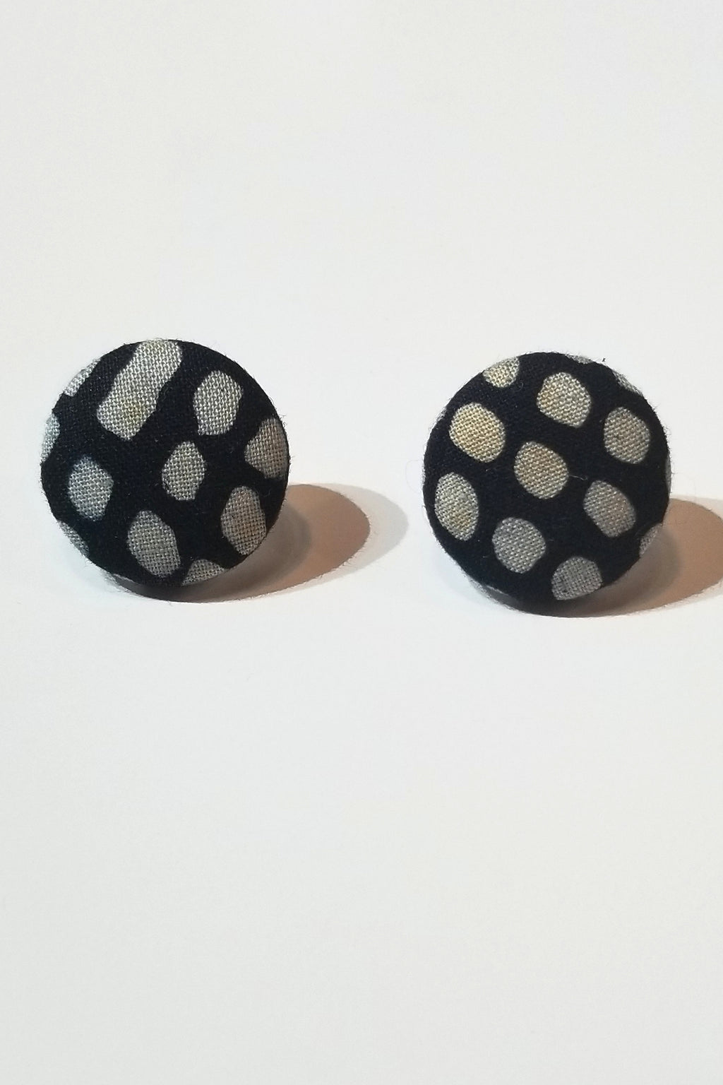 Batik Dot Earrings