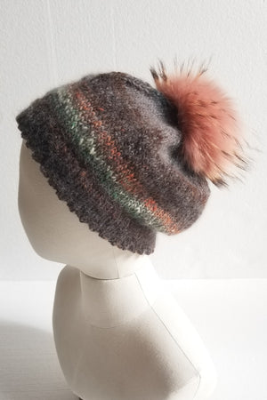 Brown Variegated Hat