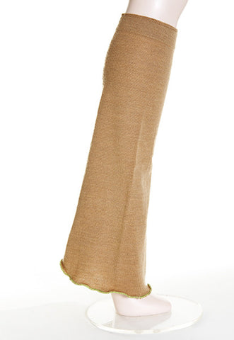 Camel Boot-Cut Leg Warmer - FOAT