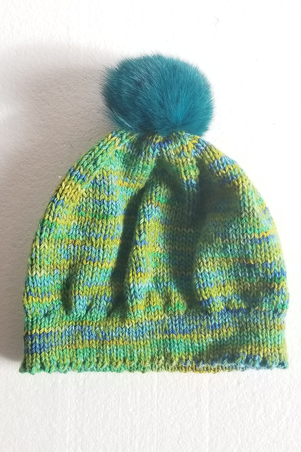 Green Variegated Hat