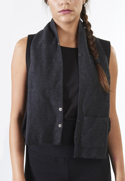 Soft Grey Scarf - FOAT