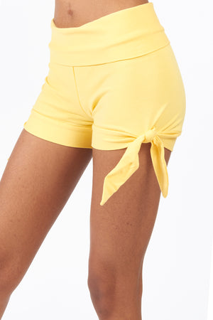 Knicker Yoga Shorts - FOAT
