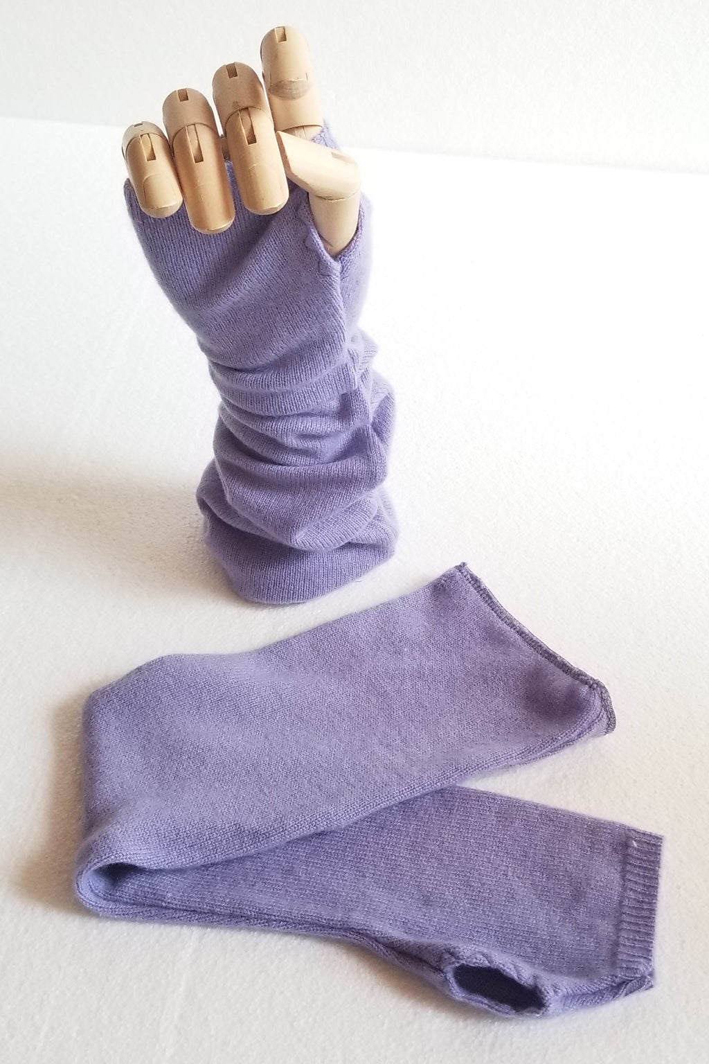 Purple Arm Warmers
