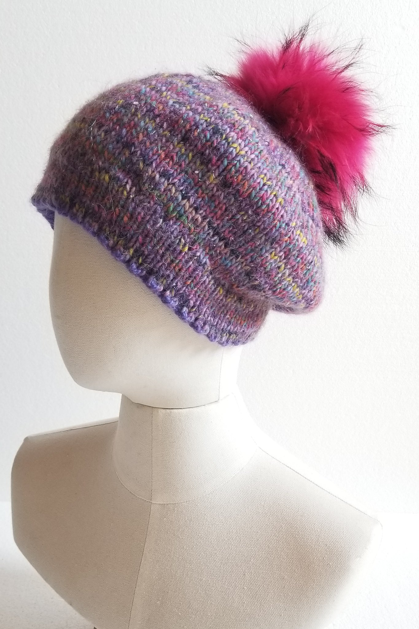 Purple & Pink Hat