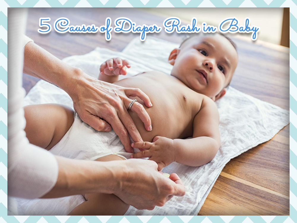 Five Possible Causes of Your Baby's Diaper Rash