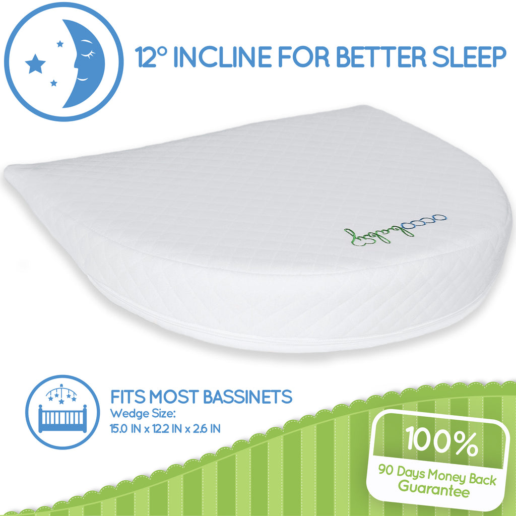 Universal Bassinet Wedge Pillow