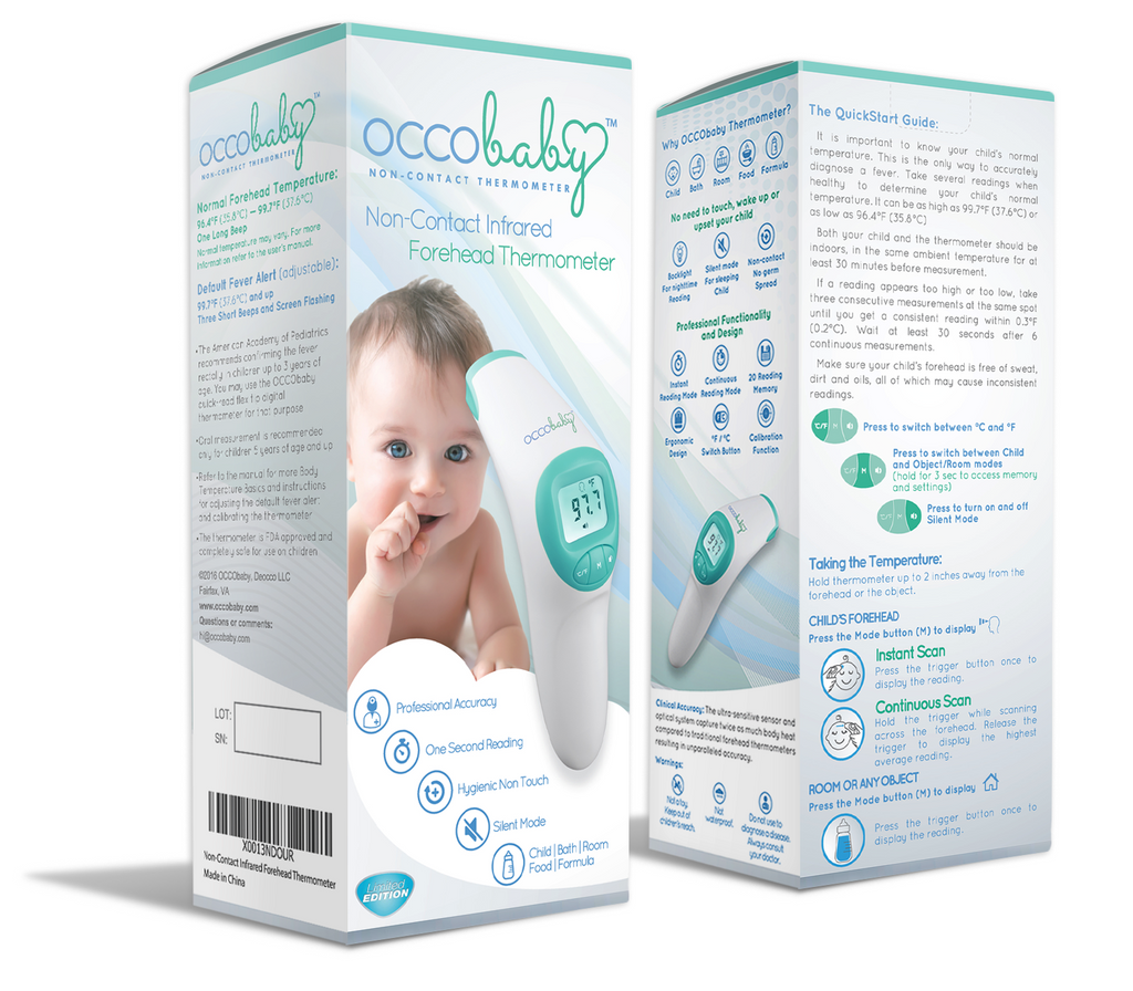 REFURBISHED - Forehead No Touch Baby Thermometer