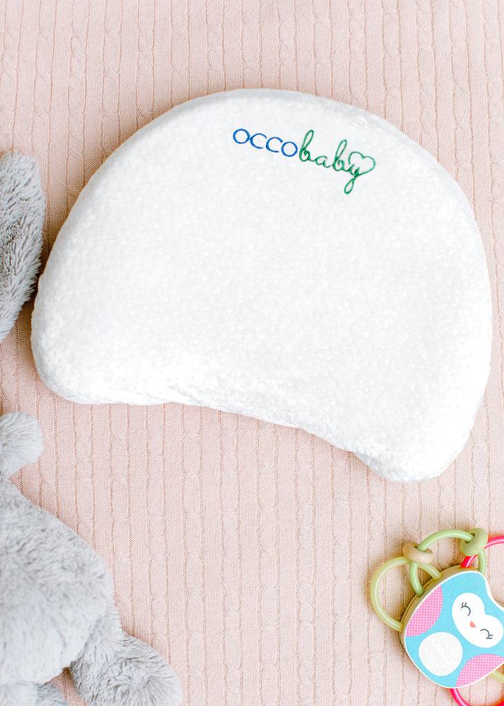 OCCObaby Head Shaping Memory Foam Pillow