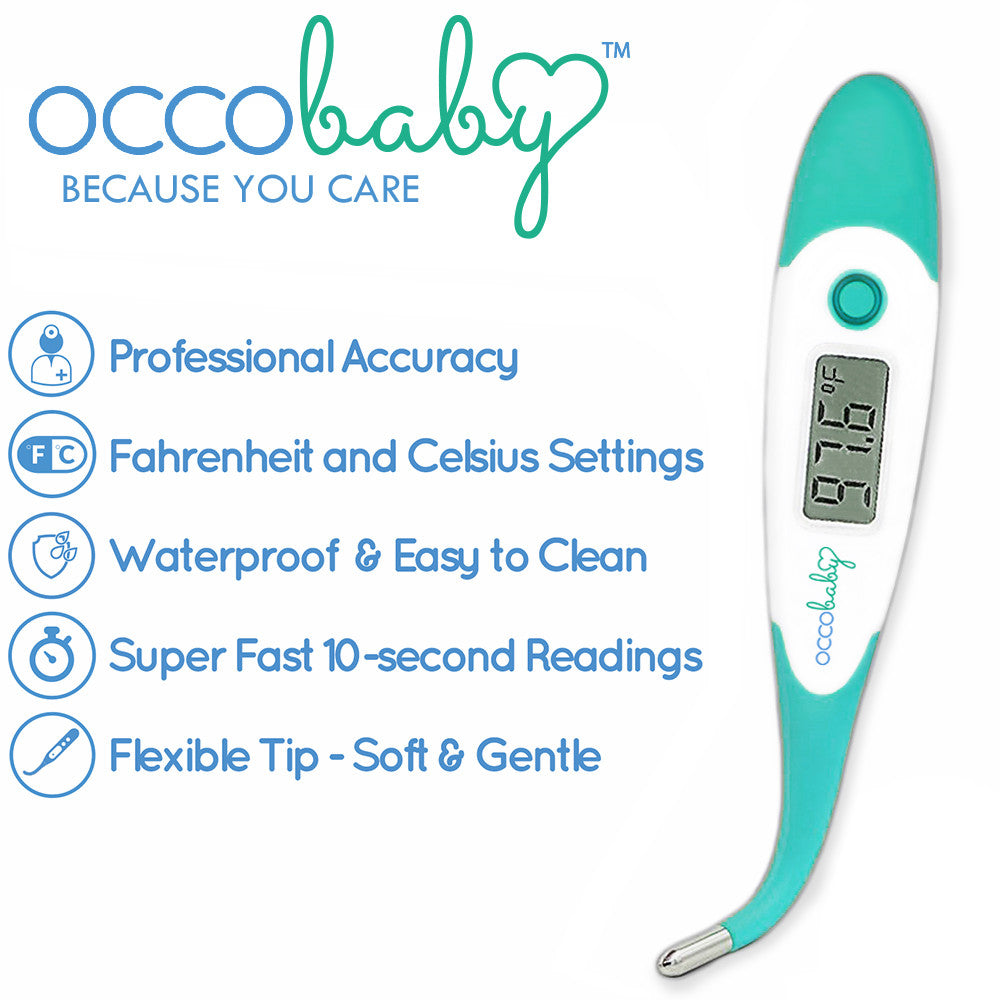 Baby Flexible Tip Digital Thermometer 6+ Baby Safety & Health