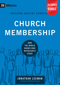 Church Membership Small Group Bundle (15 Copies)
