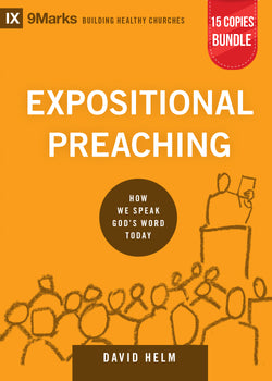 Expositional Preaching Small Group Bundle (15 Copies)