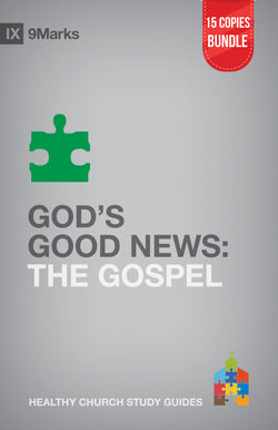 God's Good News: The Gospel Small Group Bundle (15 Copies)