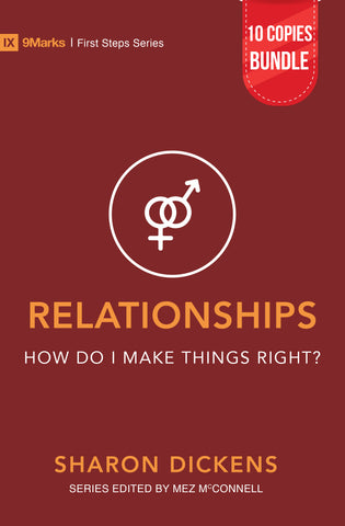 Relationships – How Do I Make Things Right? Small Group Bundle (10 Copies)