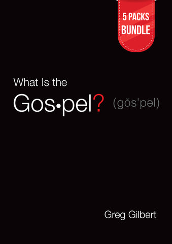 What Is the Gospel? (Tracts) 5 Packs Bundle