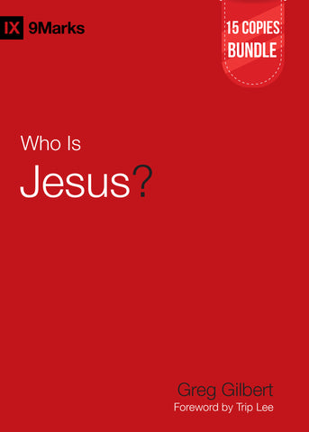 Who is Jesus? Small Group Bundle (15 Copies)